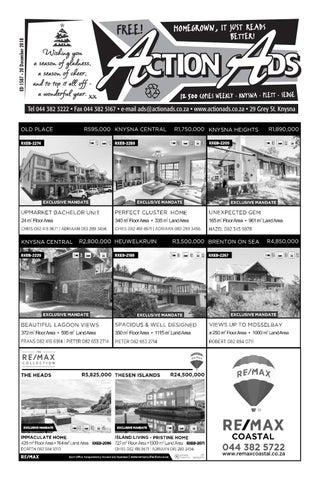 0b1e9aa2e87fb6 Edition 1580 - 1 November 2018 by Action Ads - issuu