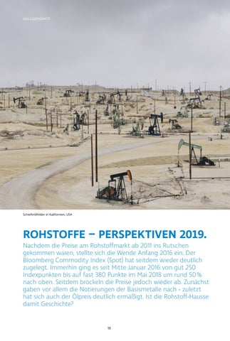 Page 18 of Rohstoffe – Perspektiven 2019