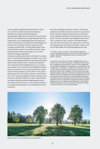 Page 25 of Nachhaltige Geldanlage - Ein Widerspruch zwischen Rendite und Gewissen?