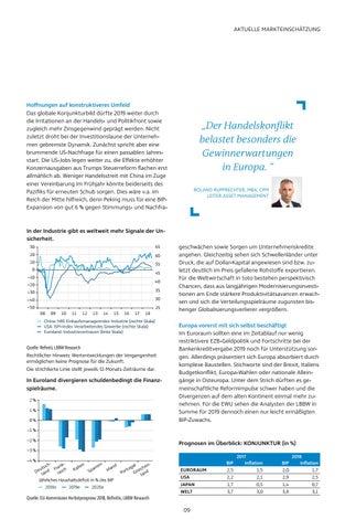 Page 9 of Mit gedämpfter Erwartung ins neue Konjunkturjahr