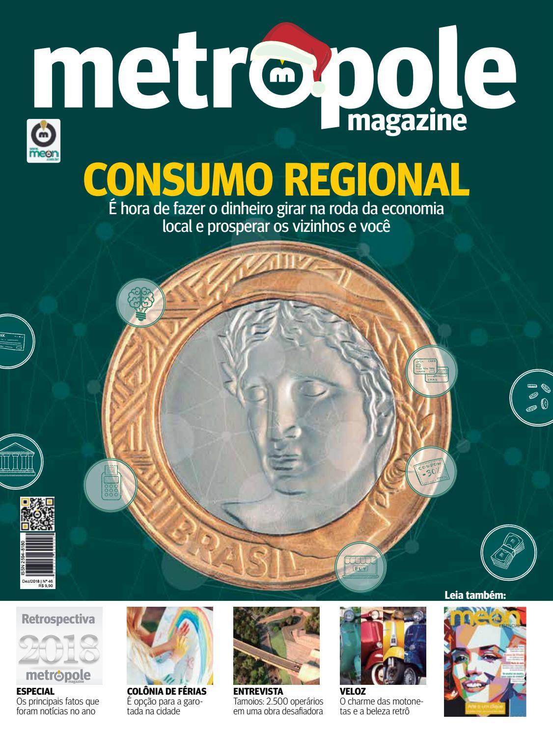 3fd0a679b Metropóle Magazine - Dezembro de 2018 / Edição 46 by Portal Meon - issuu