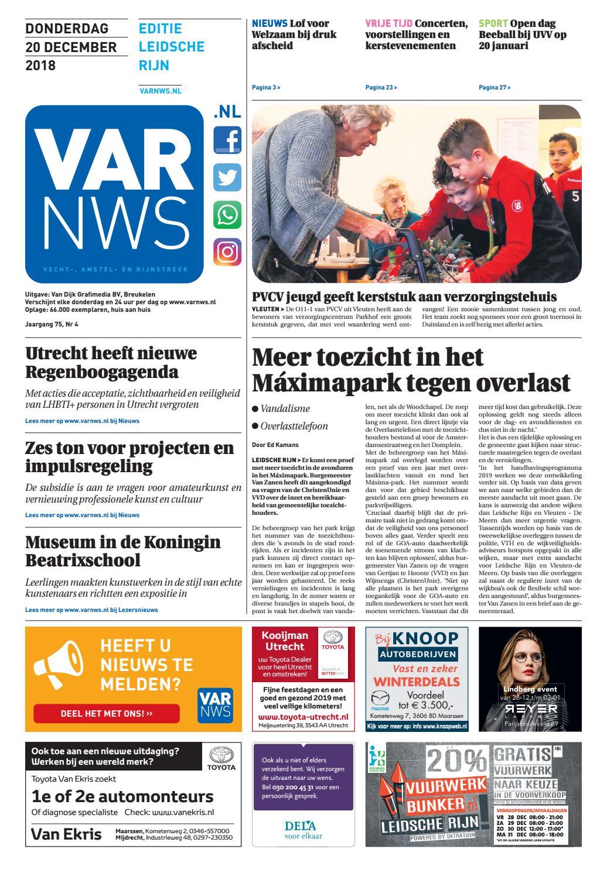 d0b9e03fbf11b3 VARnws Leidsche Rijn 20 december 2018 by VARnws - issuu