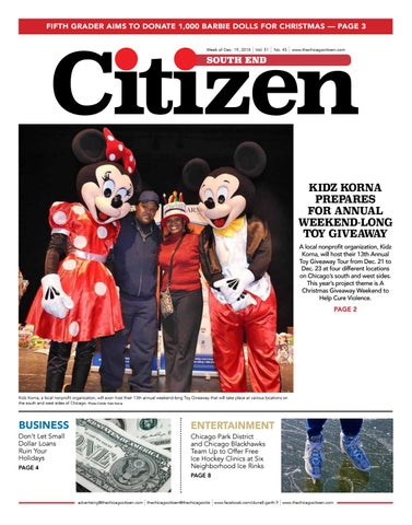 South End Citizen 12-19-2018 by CHICAGO CITIZEN NEWSPAPERS