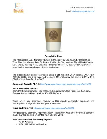 Recyclable Cups by Tango Punch - issuu