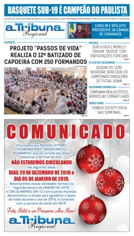 dc95fafec3 jornal A Tribuna Regional de Cravinhos by Leandro Cavalcanti - issuu