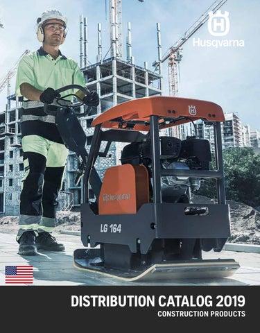US) 2019 Distribution Catalog by Husqvarna Construction