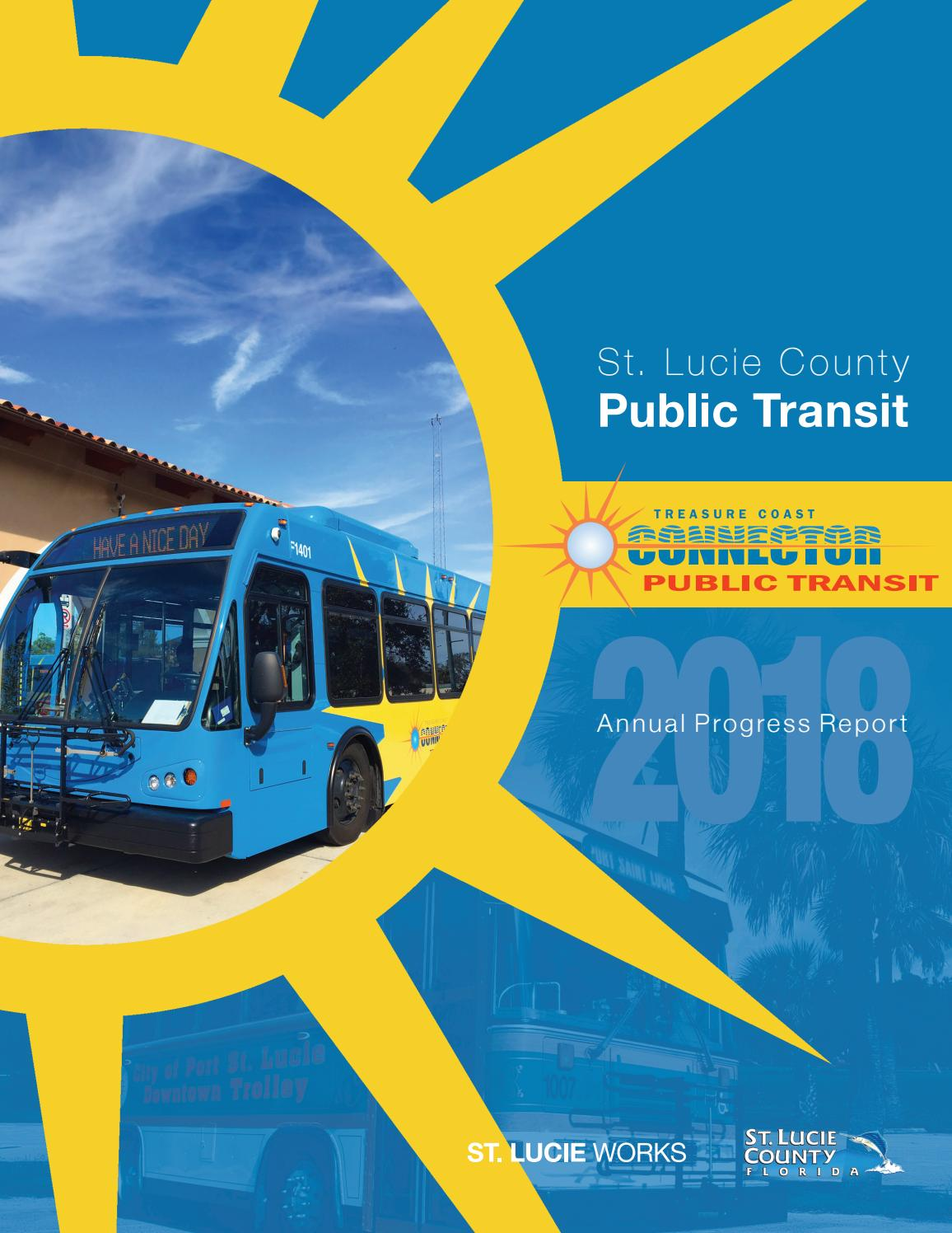 St  Lucie County BOCC Transit Annual Report 2018 by