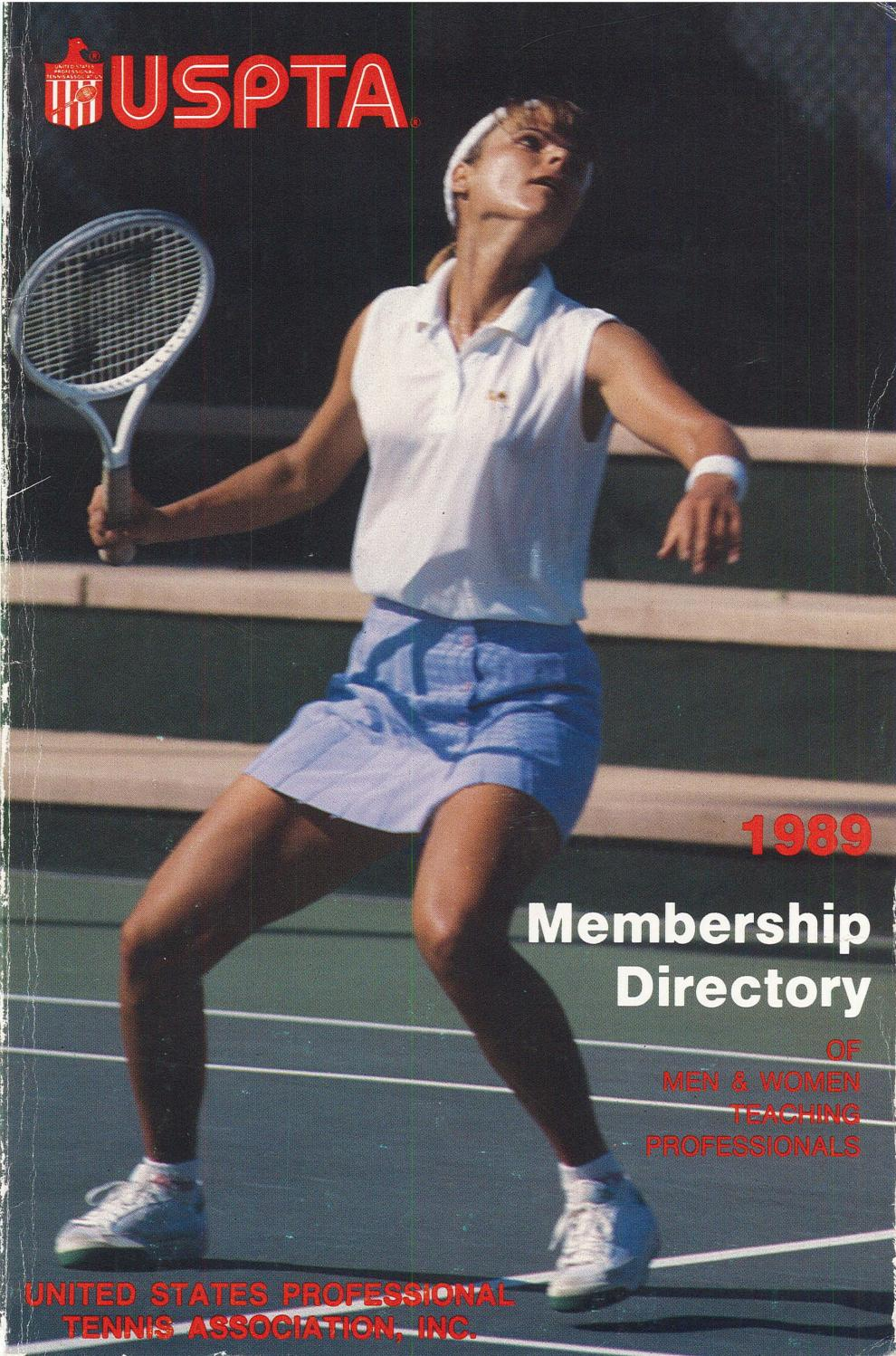 d17300ccae58b3 USPTA Membership Directory 1989 by USPTA - issuu