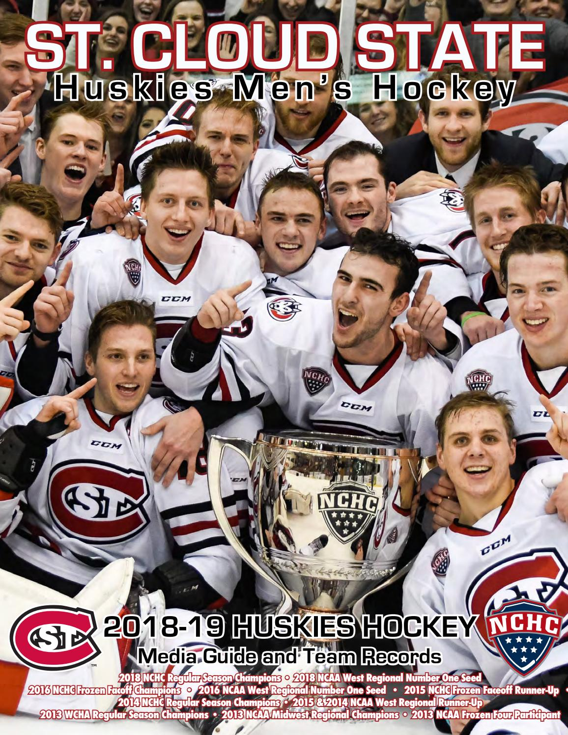 693a75a951c4 2018-19 St. Cloud State Men's Hockey Guide by Tom Nelson - issuu