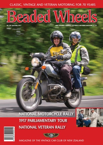 Beaded Wheels Issue 345 April/May 2017 by Vintage Car Club