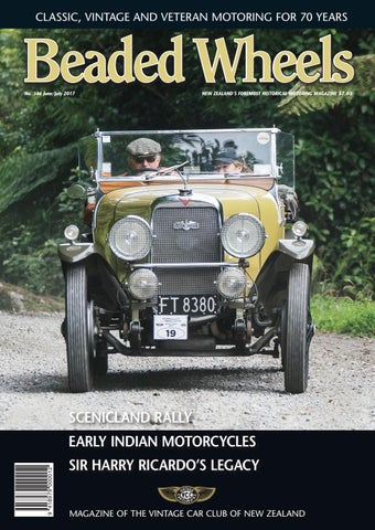 Beaded Wheels Issue 346 June/July 2017 by Vintage Car Club ... on