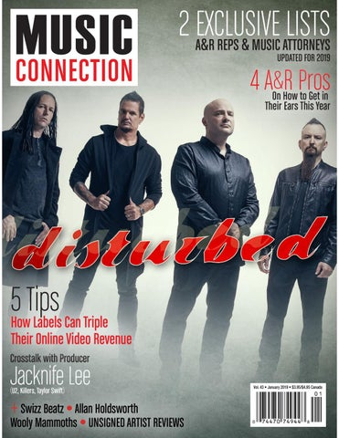 Music Connection January 2019 by Music Connection - issuu