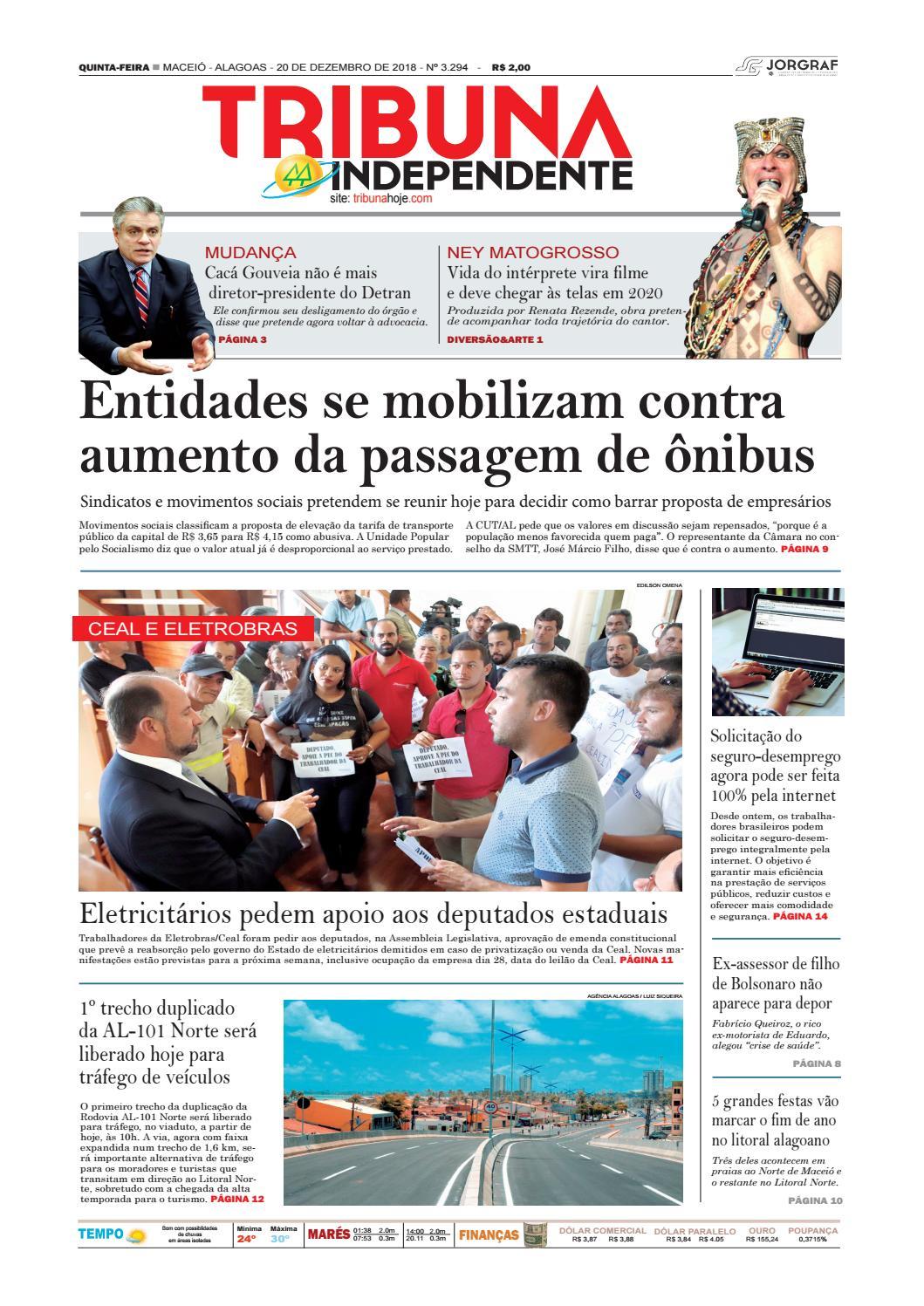 314a551754c4e Edição número 3294 - 20 de dezembro de 2018 by Tribuna Hoje - issuu