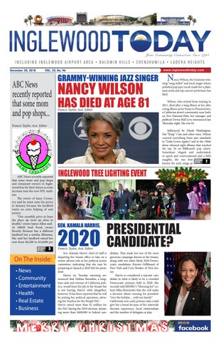 12-20-2018 by Inglewood Today News - issuu