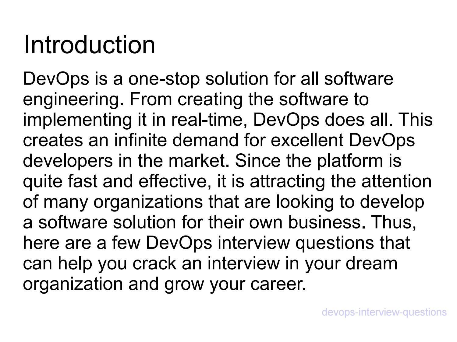 Devops interview questions-ppt by mayankseo16 - issuu
