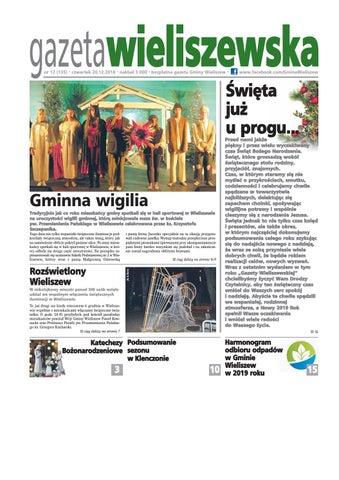 Gazeta Wieliszewska Nr 12 1352018 By Gmina Wieliszew Issuu