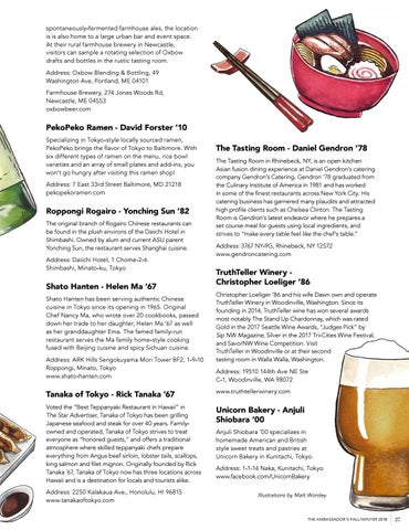 Page 29 of Alumni Food and Drink