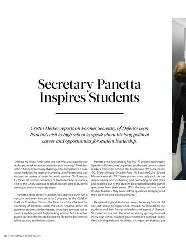 Page 30 of Secretary Panetta Inspires Students