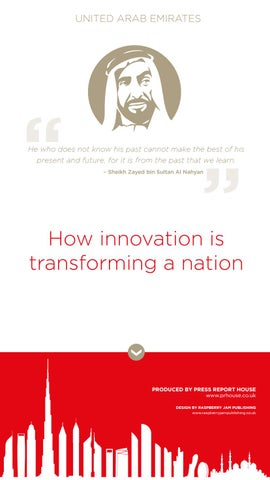 How innovation is transforming a nation by American