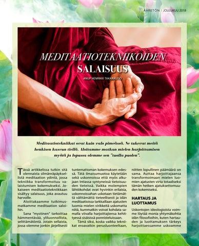 Page 19 of Meditaatiotekniikoiden salaisuus