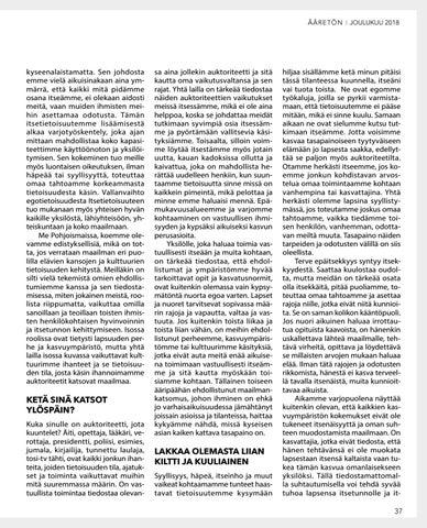 Page 37 of Varjotyön vaikutus kypsään aikuisuuteen – Kirsi Mäkinen