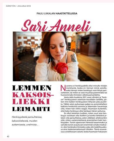 Page 40 of Sari Anneli – Lemmen kaksoisliekki leimahti