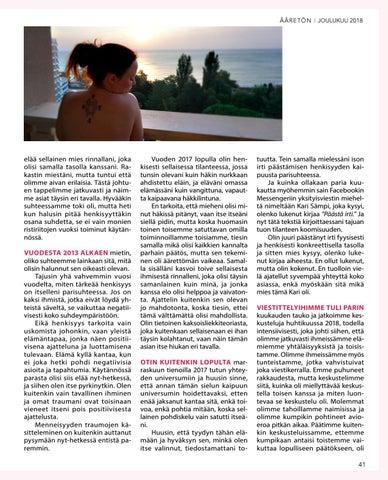 Page 41 of Sari Anneli – Lemmen kaksoisliekki leimahti