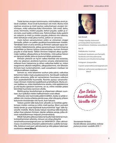 Page 9 of Keho & Mieli: Ihmisen kokonaisvaltainen hyvinvointi