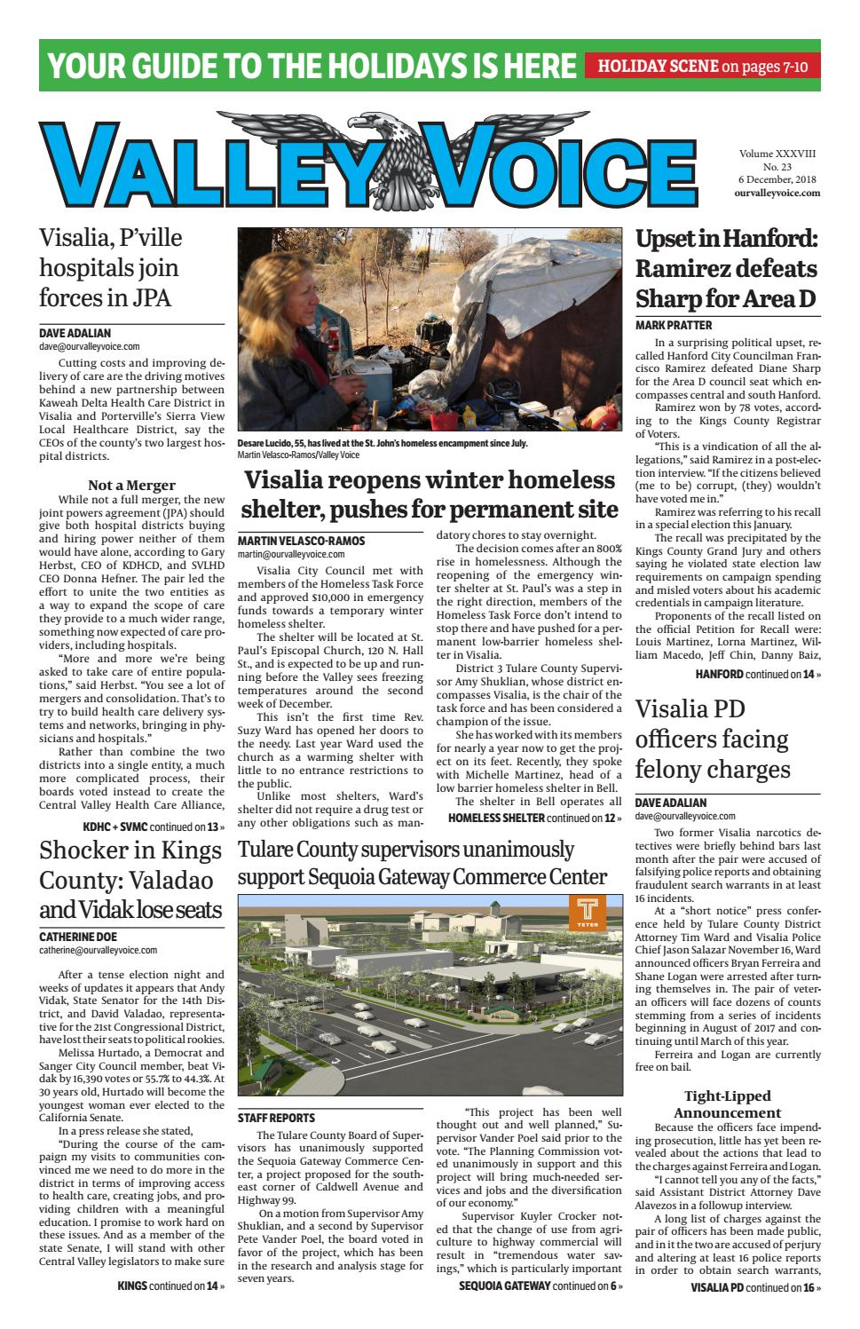 Valley Voice Issue 130 (6 December, 2018) by Valley Voice - issuu
