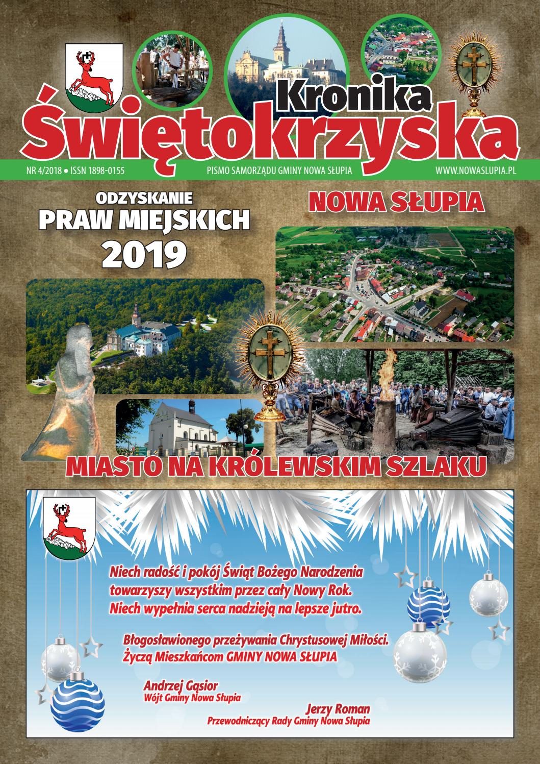 Kalendarium Burmistrza - Miasto i Gmina Nowa Supia