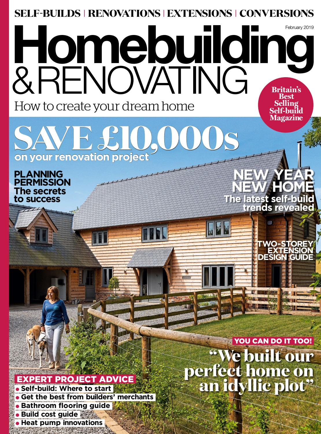 Homebuilding Renovating: Homebuilding & Renovating 146 (Sampler) By Future PLC