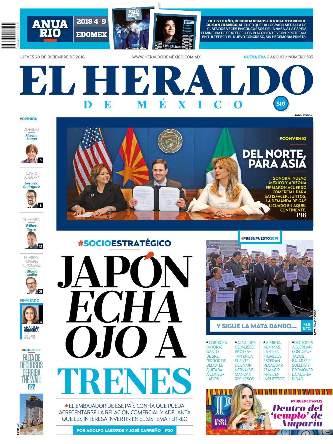 20 de diciembre by El Heraldo de México - issuu e67710259a6ff