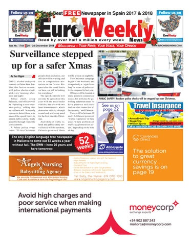 842a792a403 Euro Weekly News - Mallorca 20-26 December 2018 Issue 1746 by Euro ...