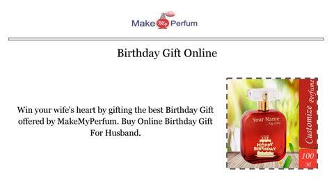 Online Birthday Gift For Husband