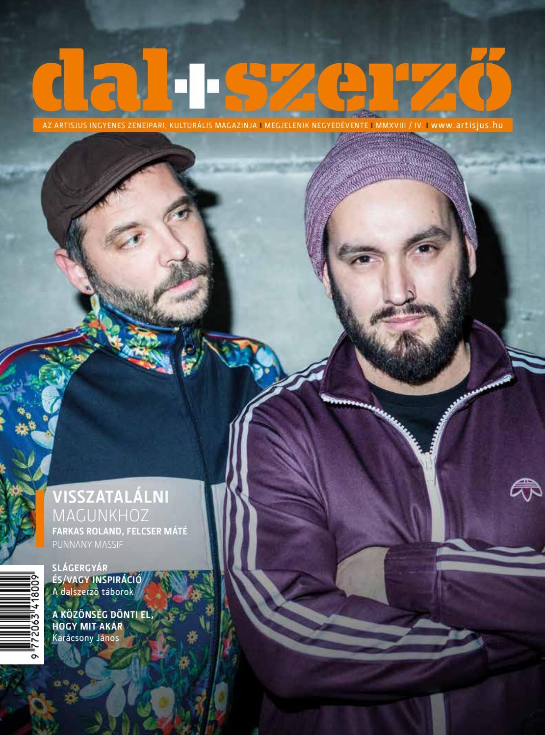 bf4b132749 Dal+Szerző magazin 2018/04. by Artisjus - issuu