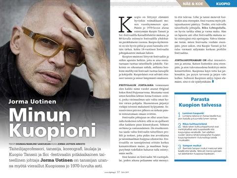 Page 17 of Minun Kuopioni - Jorma Uotinen