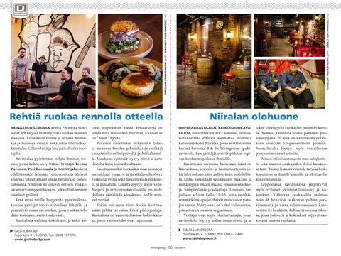 Page 50 of Rehtiä ruokaa rennolla otteella