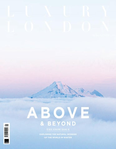 b8e784877 Luxury London Magazine January 2019 by Luxury London Media - issuu