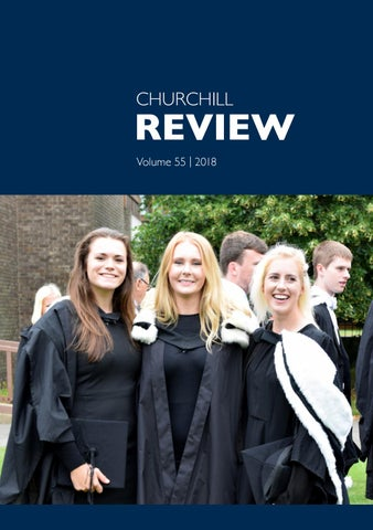 Churchill Review 2018 by Churchill College - issuu