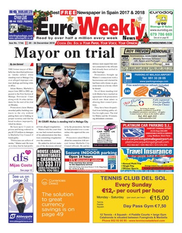 Euro Weekly News - Costa del Sol 20-26 December 2018 Issue 1746 by