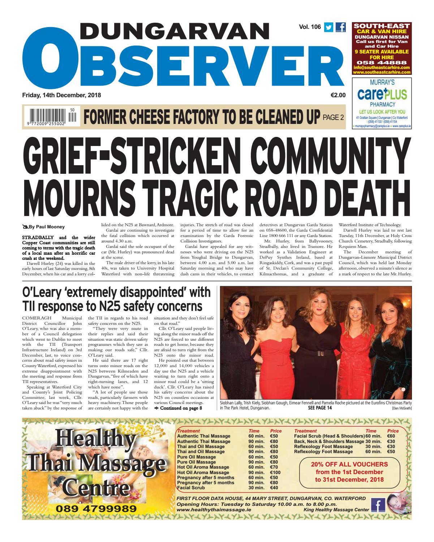 22ebf4be975 Dungarvan Observer by Dungarvan Observer - issuu