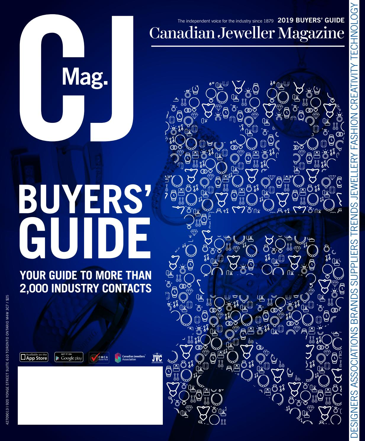 CJ Buyers' Guide 2019 by Canadian Jeweller Magazine - issuu