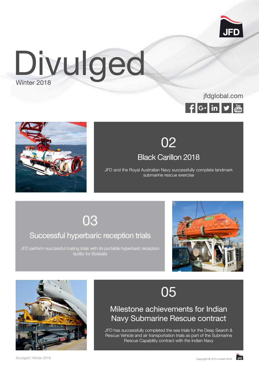 JFD Divulged - December 2018 by jfdglobal - issuu