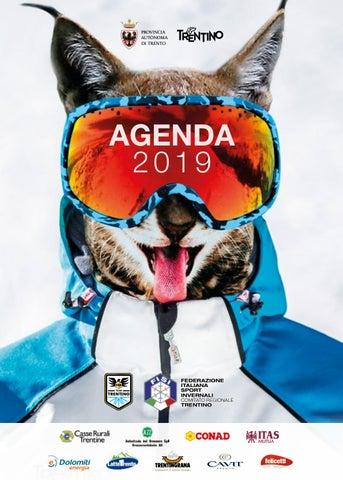 Fisi Alpi Centrali Calendario.Agenda Fisi 2019 By Fisi Trentino Issuu
