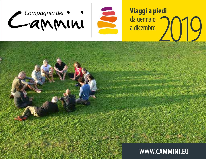 Meridiani Montagne Calendario 2020.Compagnia Dei Cammini Calendario Viaggi A Piedi 2019 By