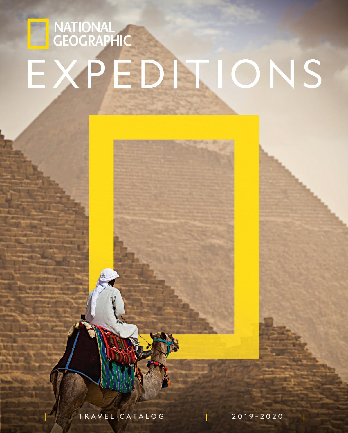 2019-2020 National Geographic Expeditions Catalog by