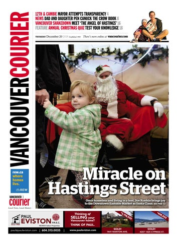 d88b64aca 12TH   CAMBIE MAYOR ATTEMPTS TRANSPARENCY 4 NEWS DAD AND DAUGHTER PEN CANUCK  THE CROW BOOK 8 VANCOUVER SHAKEDOWN MEET  THE ANGEL OF HASTINGS  16 FEATURE  ...