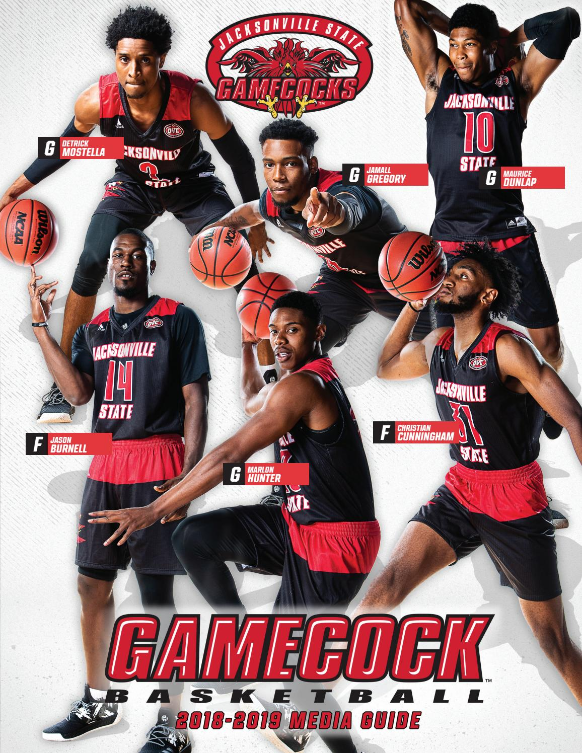 2018 19 Jacksonville State Men S Basketball Media Guide By Jacksonville State Athletics Issuu