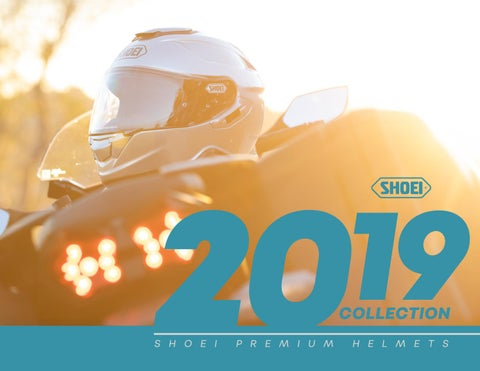 f2a35753 Shoei 2019 Helmet Collection by THE MEDIUM CREATIVE GROUP - issuu