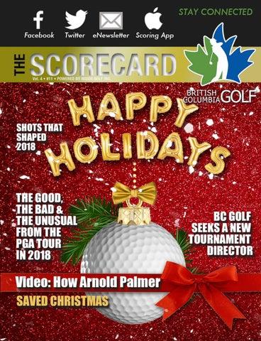 British Columbia Golf - The Scorecard Magazine Vol. 4 Issue 12